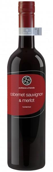 Puklavec & Friends Cabernet Sauvignon Merlot - Jahrgang: 2018