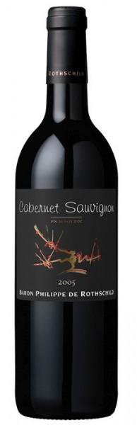 Les Cepages Cabernet Sauvignon Vin de Pays d'Oc - 2015