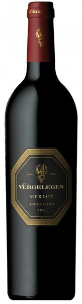 Vergelegen Merlot - 2012