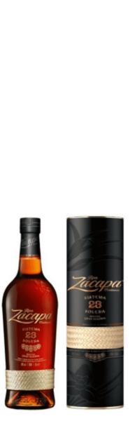 Ron Zacapa Sistema Solera 23 Rum 40% vol.