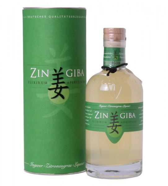 Zingiba Premium Liqueur in Geschenkdose
