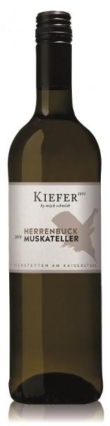 Kiefer Muskateller Kabinett halbtrocken - Jahrgang: 2019
