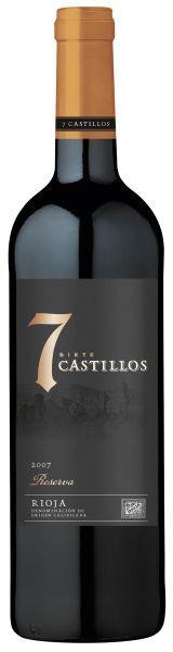 7 Castillos Reserva DOCa - 2008