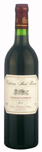 Château Haut Barry Bordeaux Supérieur AOC - 2015
