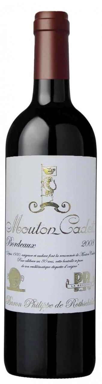 Baron Philippe de Rothschild Mouton Cadet Retro Rouge Bordeaux AOC - 2014, 5,95