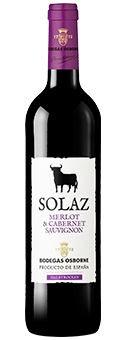 Osborne Solaz Merlot Cabernet Sauvignon Semi Seco - 2014