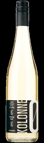 Kolonne Null Riesling trocken alkoholfrei - Jahrgang: 2019