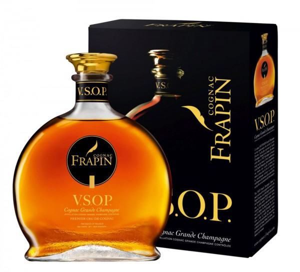 Cognac Frapin V.S.O.P. in Geschenkpackung