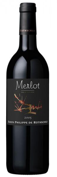 Les Cépages Merlot Vin de Pays d'Oc - 2015