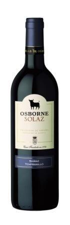 Osborne Solaz Shiraz / Tempranillo - 2015