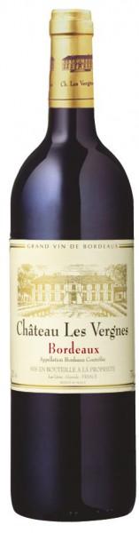 Château Les Vergnes Rouge Bordeaux AOC - 2014