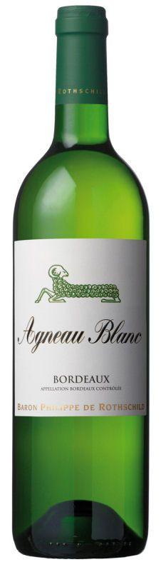 Baron Philippe de Rothschild Agneau Blanc Bordeaux AOC - 2014, 5,95