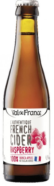 Val de Rance - French Cidre Rasperry - 0,33L