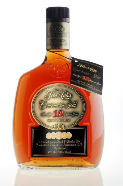 Flor de Cana Rum Centenario Gold 18 years old