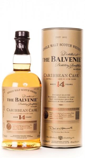Balvenie Caribbean Cask 14 Years Single Malt Whisky