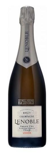 Champagne AR Lenoble Millesime Grand Cru Blanc de Blancs - 2008 1,5L Magnum - Jahrgang: 2008