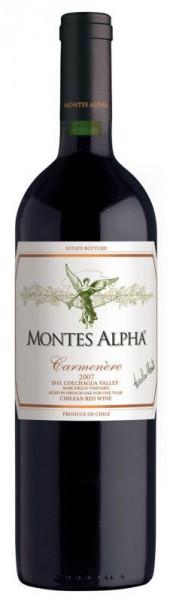 Montes Alpha Carmenère - 2015