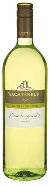 Wachtenburger Grauburgunder Pfalz trocken 1,0L - 2016