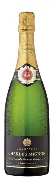 Champagne Charles Mignon Brut Premier Cru - 0,375 Liter