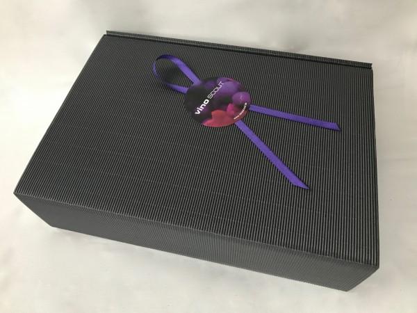 Geschenkkarton schwarz 3er incl. Sizzle