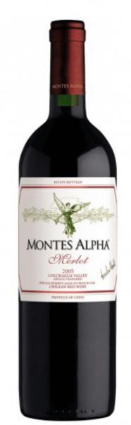 Montes Alpha Merlot - Jahrgang: 2018