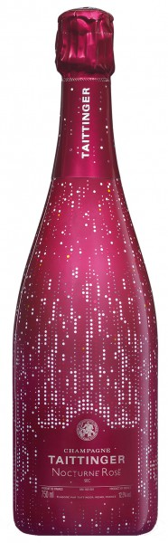 Champagne Taittinger Nocturne Rose Sec City Lights