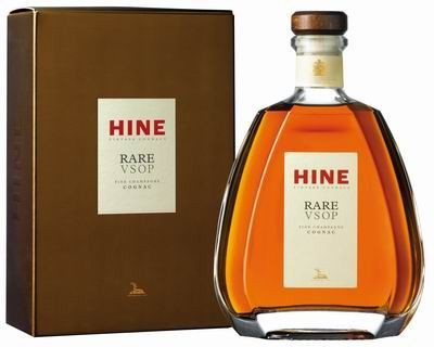 Hine Rare Fine Champagne V.S.O.P. in Geschenkpackung