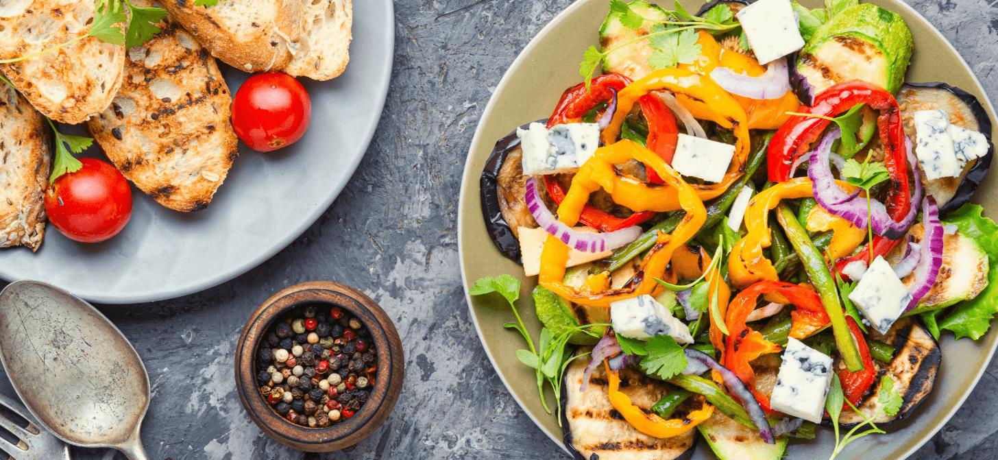 Weine zum Grillen - Gemüse und Salate
