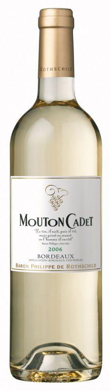 Baron Philippe de Rothschild Mouton Cadet Blanc Bordeaux AOC - 2014, 5,95
