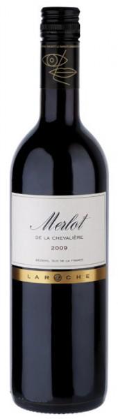 Merlot de La Chevalière Vin de Pays d'Oc - 2014