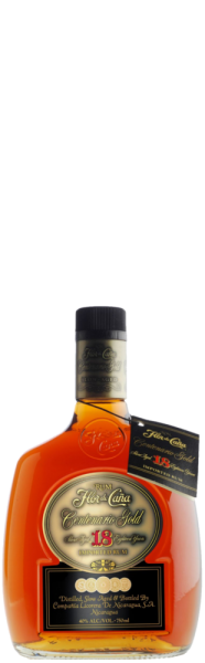 Flor de Cana Rum Centenario Gold 18 years old