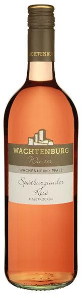 Wachtenburg Spätburgunder Rosé halbtrocken 1,0L - 2015
