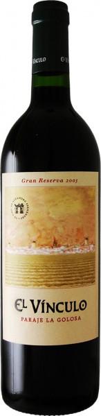 El Vínculo Paraje La Golosa Gran Reserva - 2004