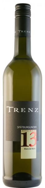 Trenz Spätburgunder Blanc de Noir trocken - 2014