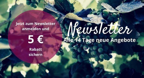 Jetzt zum Newsletter anmelden! 5 € Rabatt sichern