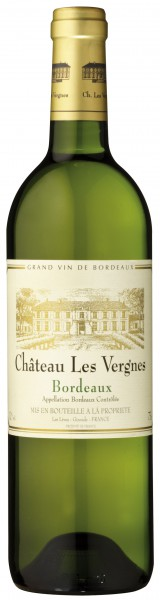 Château Les Vergnes Blanc Bordeaux AOC - 2015