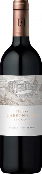 Chateau Carbonneau Sequoia Saint Foy Bordeaux AOC - 2014