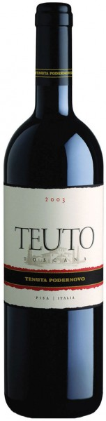 Teuto Toscana Rosso IGT - 2012