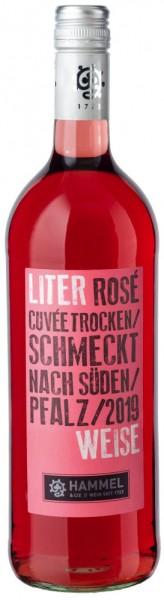 Hammel & Cie Literweise Cuvée Rosé trocken 1,0L - Jahrgang: 2019