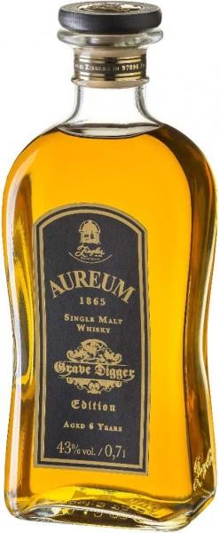 Aureum Grave Digger Edition 6 Jahre Single Malt Whisky