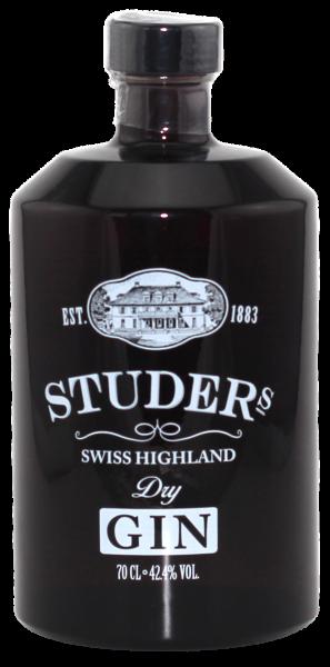 Studer´s Swiss Highland Dry Gin 42,4% vol.