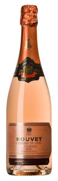 Bouvet Cremant de Loire Rosé Excellence Brut