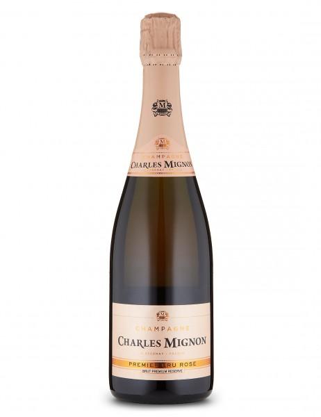 Champagne Charles Mignon Brut Rosé Premier Cru