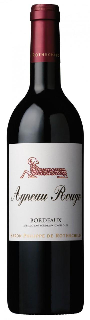 Baron Philippe de Rothschild Agneau Rouge Bordeaux AOC - 2014, 5,95