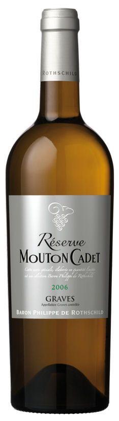 Baron Philippe de Rothschild Réserve Mouton Cadet Graves Blanc Bordeaux AOC - 2013, 5,95