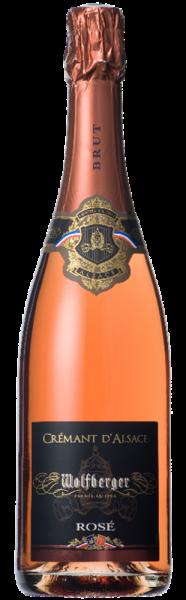 Wolfberger Cremant Rosé d'Alsace Brut AOC