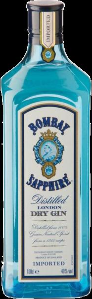 BOMBAY SAPPHIRE London Dry Gin 1,0 L