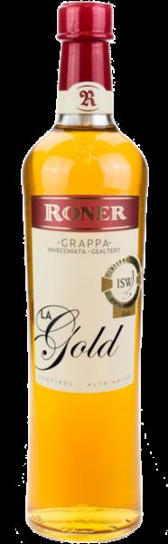 Roner Grappa La Oro Gold