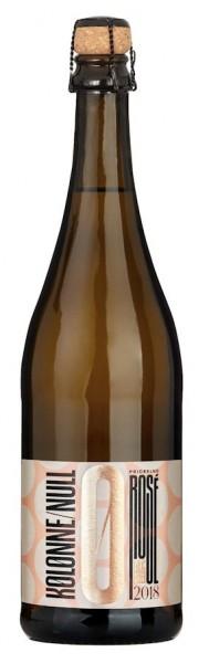 Kolonne Null Rosé prickelnd trocken alkoholfrei - Jahrgang: 2018