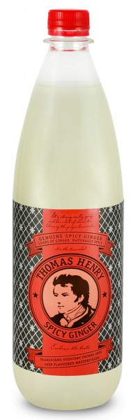 Thomas Henry Spicy Ginger 1,0L (incl. 0,15 € Pfand)